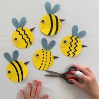 Bee Scissor Skills