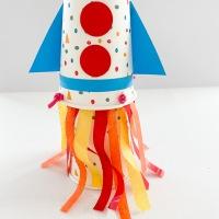 DIY Rocket Launch for Kids